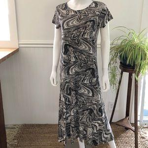 Peruvian Connection maxi tee dress Large